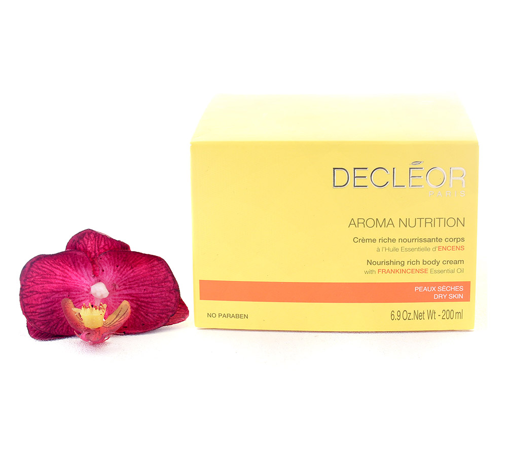 DR662000 Decleor Aroma Nutrition Nourishing Rich Body Cream - Creme Riche Nourrissante Corps 200ml