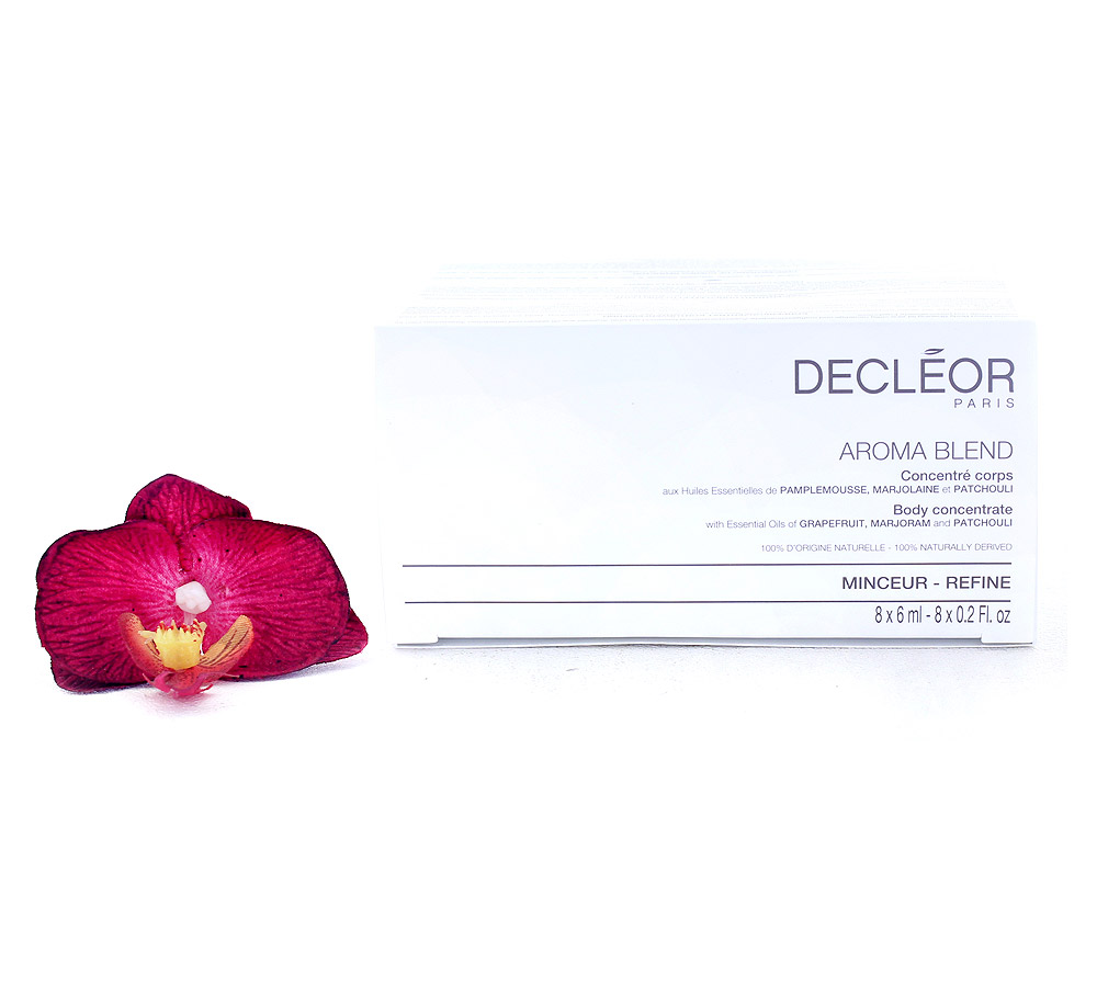 DR675050 Decleor Aroma Blend Body Concentrate - Refine 8x6ml