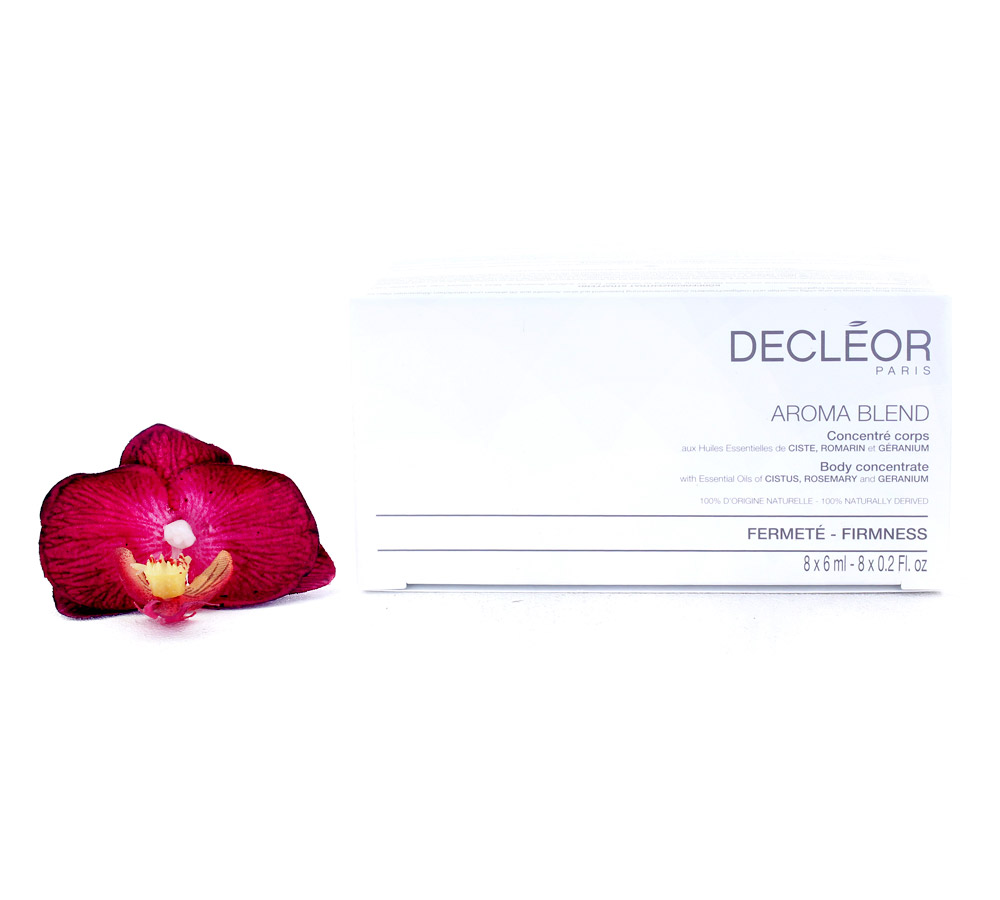 DR676050 Decleor Aroma Blend Body Concentrate - Firmness 8x6ml