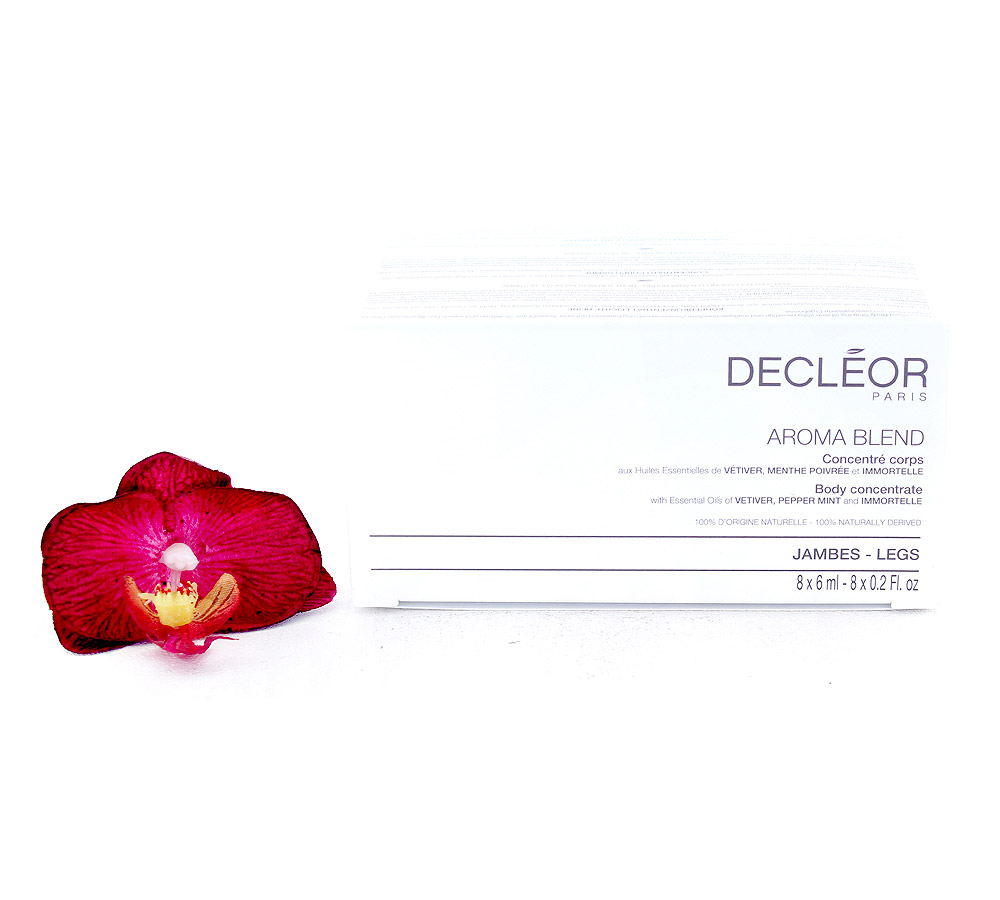 DR677050 Decleor Aroma Blend Body Concentrate - Legs 8x6ml