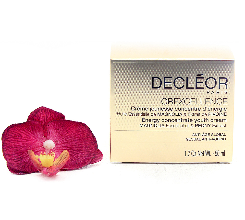 DR742000-1 Decleor Orexcellence Crème Jeunesse Concentré d'Énergie - Energy Concentrate Youth Cream 50ml