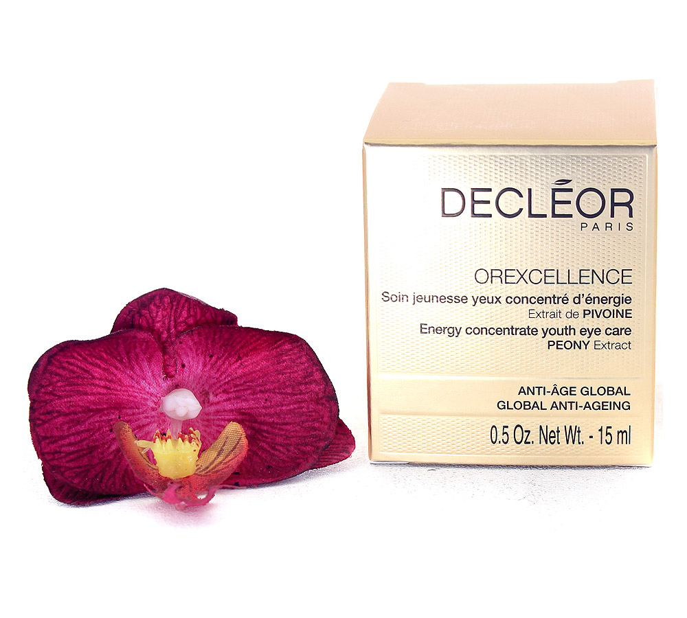 DR743000 Decleor Orexcellence Soins Jeunesse Yeux Concentré d'Énergie - Energy Concentrate Youth Eye Care 15ml