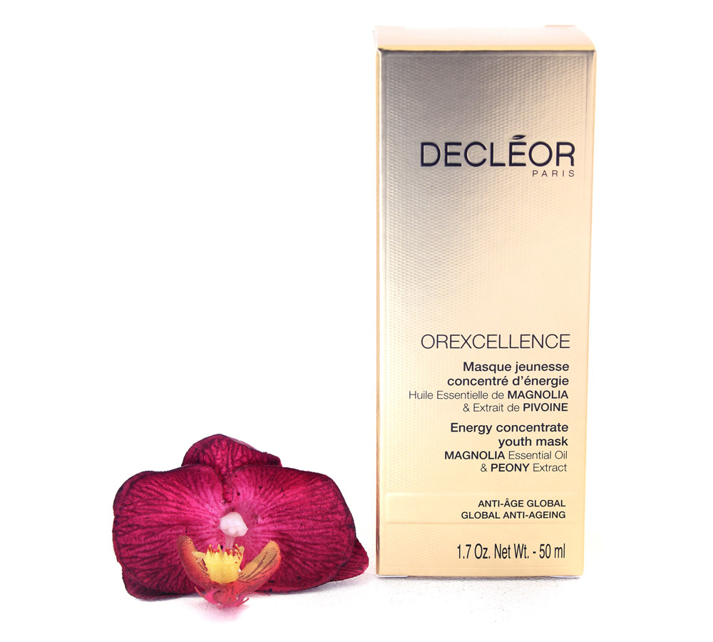 DR744000 Decleor Orexcellence Energy Concentrate Youth Mask - Masque Jeunesse Concentre d'Energie 50ml