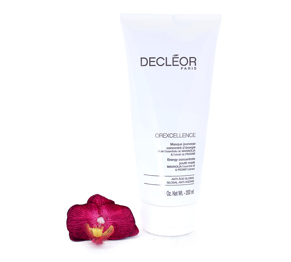 DR744050 Decleor Orexcellence Masque Jeunesse Concentré d'Énergie - Energy Concentrate Youth Mask 200ml