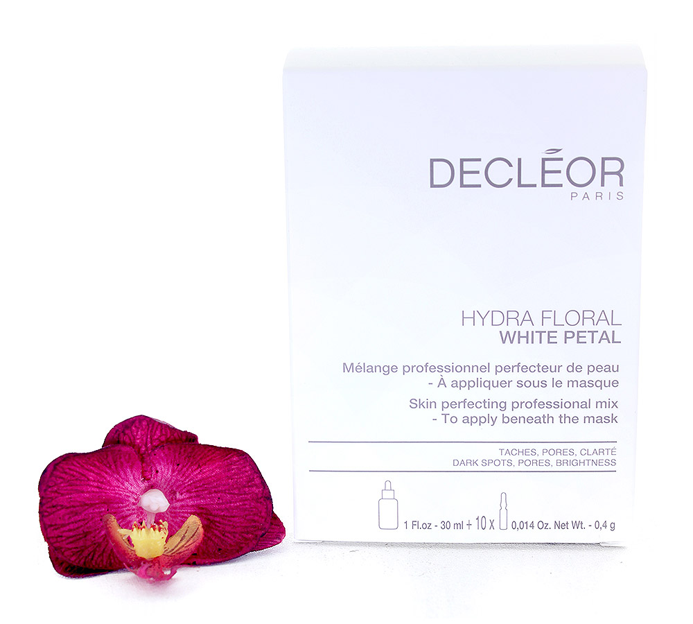 DR775050 Decleor Hydra Floral White Petal Skin Perfecting Professional Mix