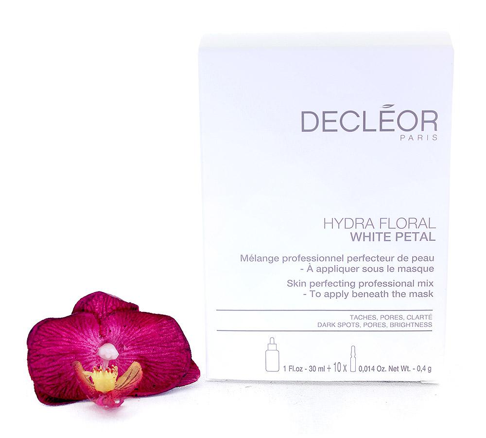 DR775050 Decleor Hydra Floral White Petal Mélange Professionnel Perfecteur de Peau