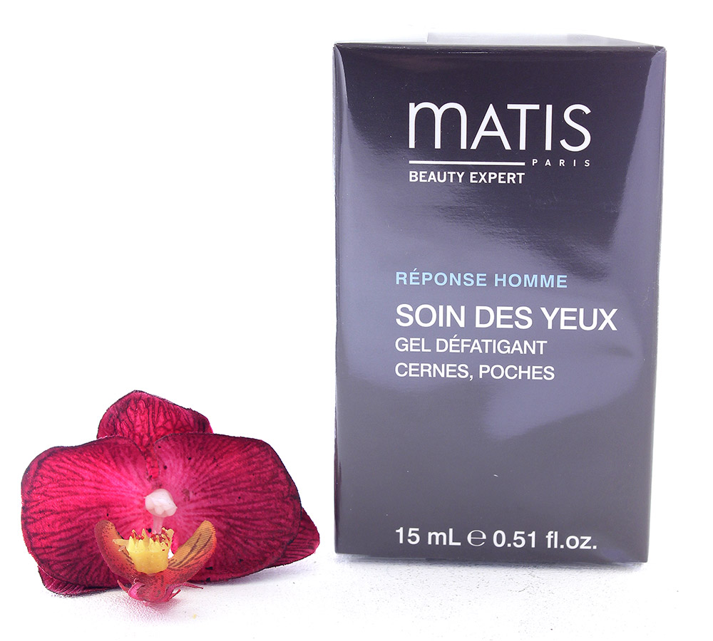 37916 Matis Reponse Homme Eye Care Eye Reviving Gel 15ml