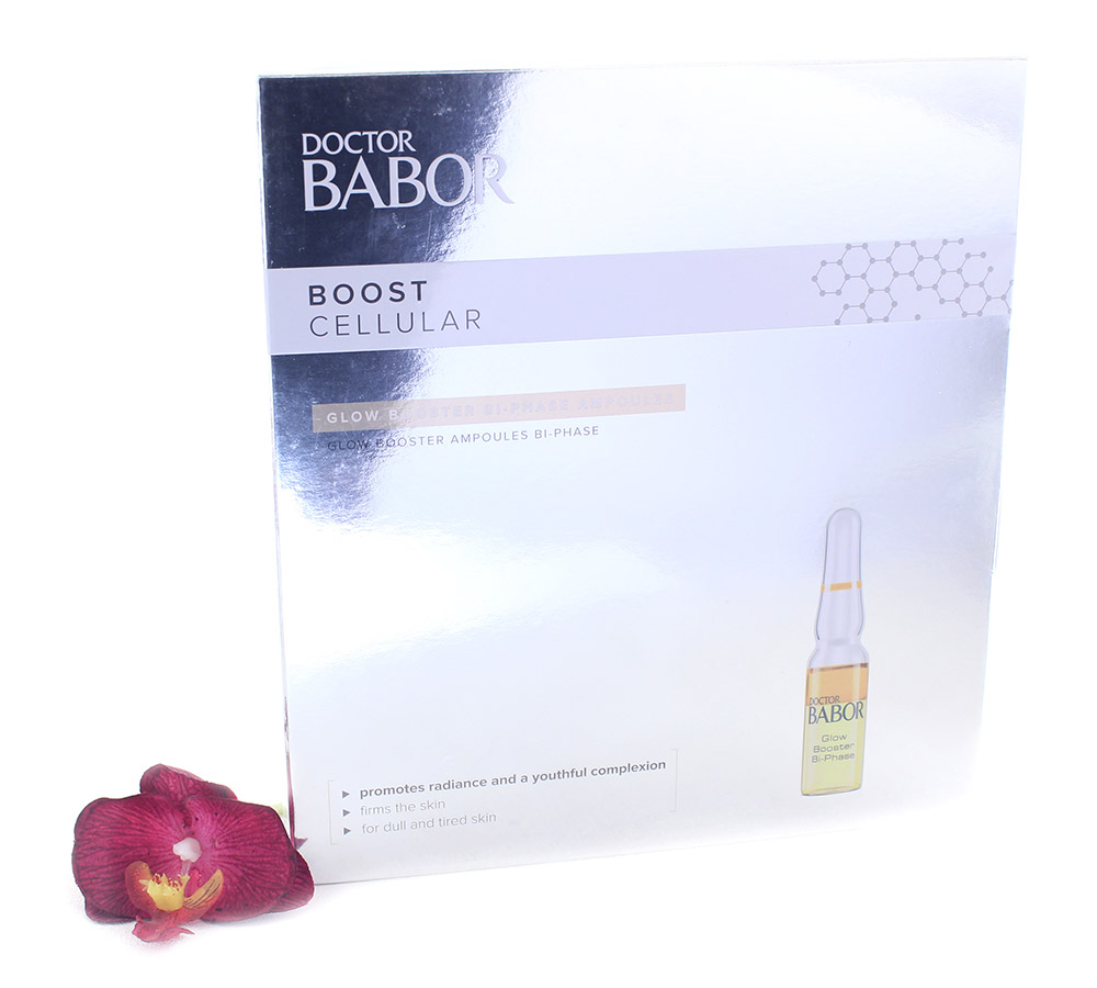402610 Babor Boost Cellular Glow Booster Bi-Phase Ampoules 14x1ml