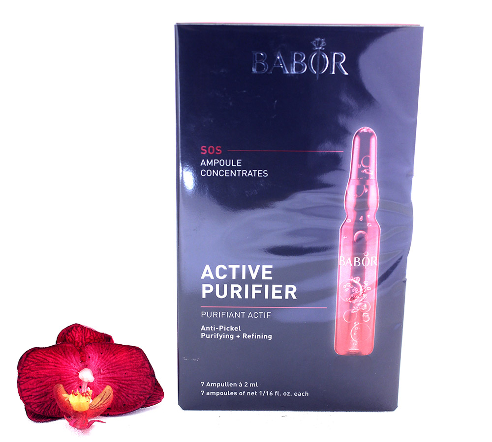 408520 Babor Ampoule Concentrates FP SOS Active Purifier 7x2ml
