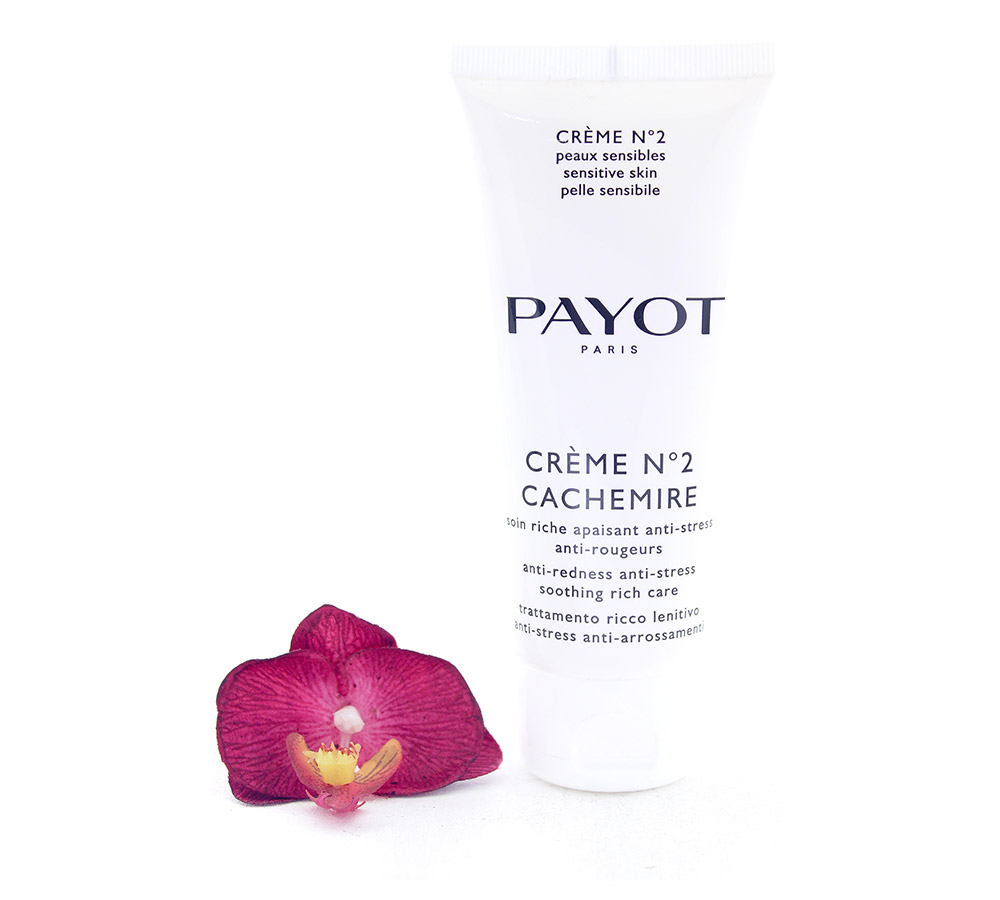 65116466 Payot Creme No2 Cachemire - Anti-Redness Anti-Stress Soothing Rich Care 100ml