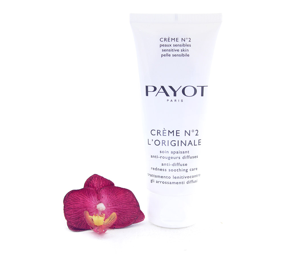 65116573 Payot Crème No2 l'Originale Soin Apaisant Anti-Rougeurs Diffuses - Anti-Diffuse Redness Soothing Care 100ml