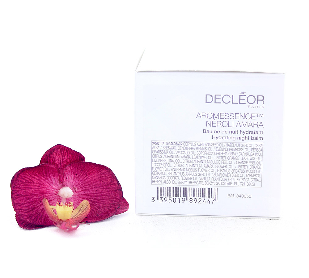 DR340050 Decleor Aromessence Neroli Amara Hydrating Night Balm - Baume de Nuit Hydratant 100ml