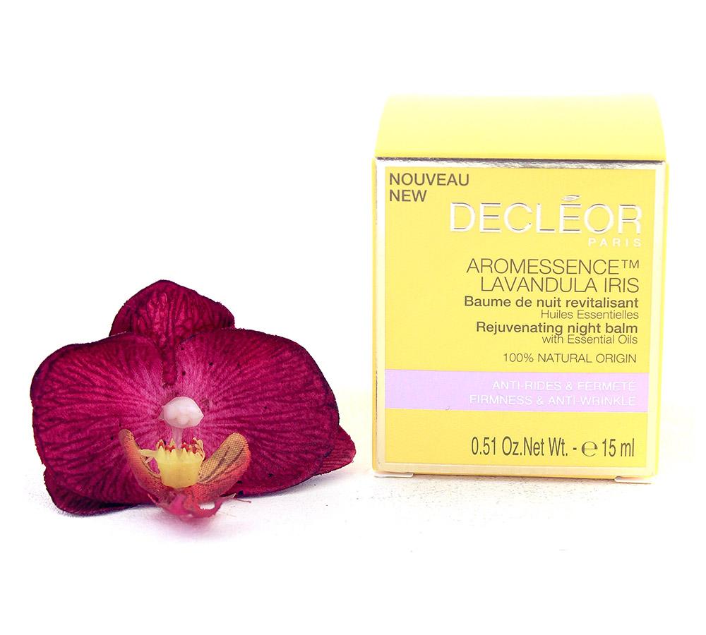 DR348000 Decleor Aromessence Lavandula Iris Rejuvenating Night Balm - Baume de Nuit Revitalisant 15ml