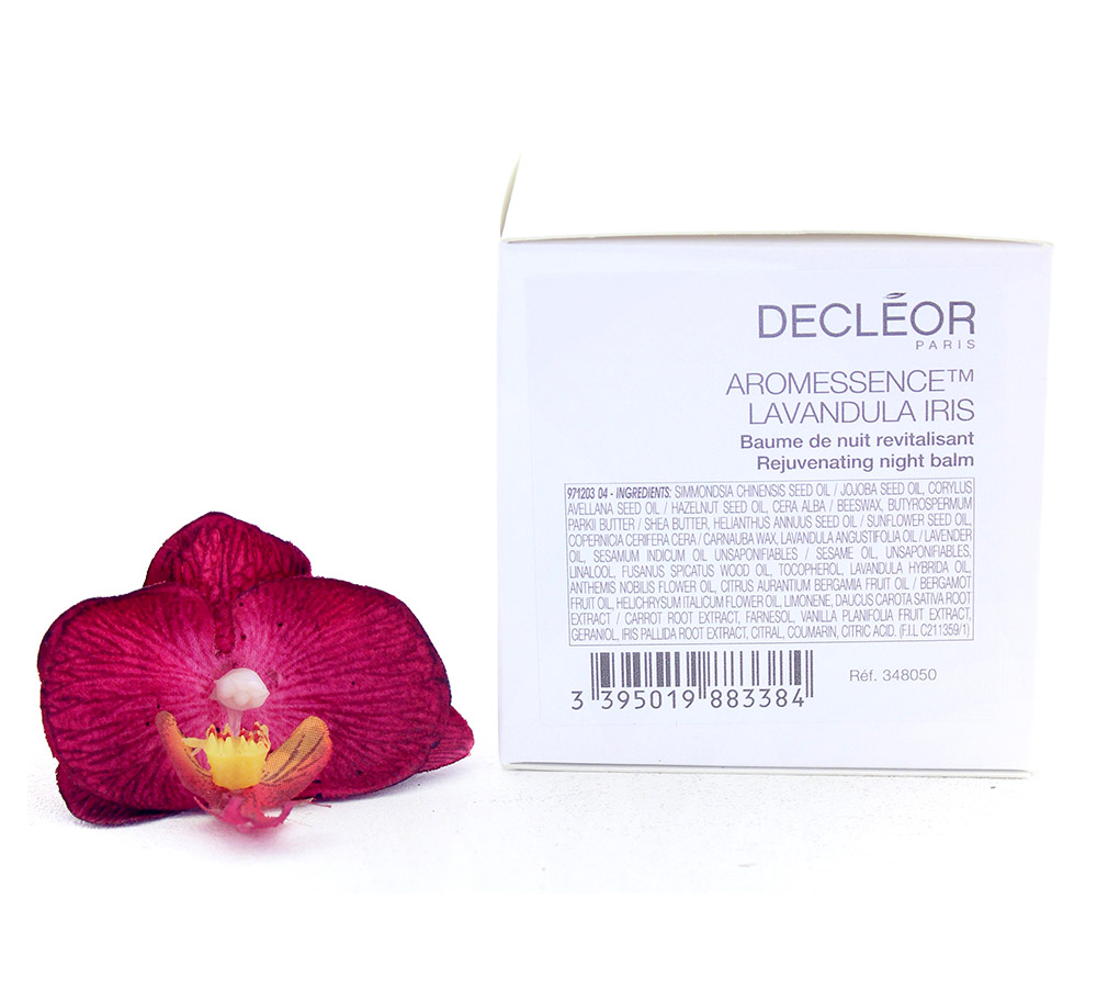 DR348050 Decleor Aromessence Lavandula Iris Baume de Nuit Revitalisant - Rejuvenating Night Balm 100ml