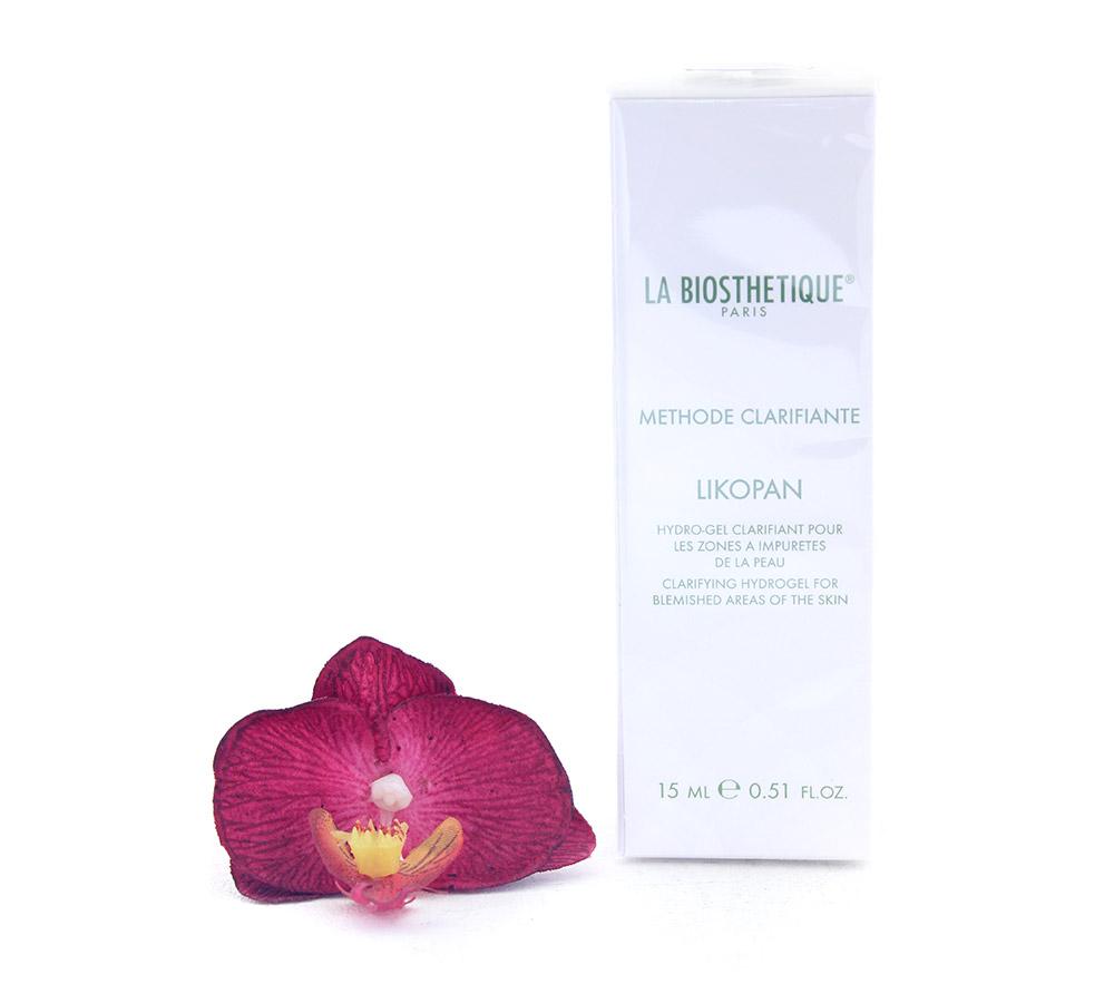 002717 La Biosthetique Likopan Hydro-Gel Clarifiant pour les Zones a Impuretes de la Peau - Clarifying Hydrogel for Blemished Areas of the Skin 15ml