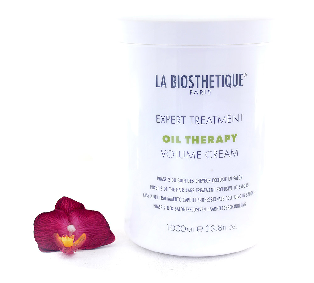 130765 La Biosthetique Expert Treatment Oil Therapy Volume Cream - Phase 2 of The Hair Care Treatment Exclusive to Salons 1000ml