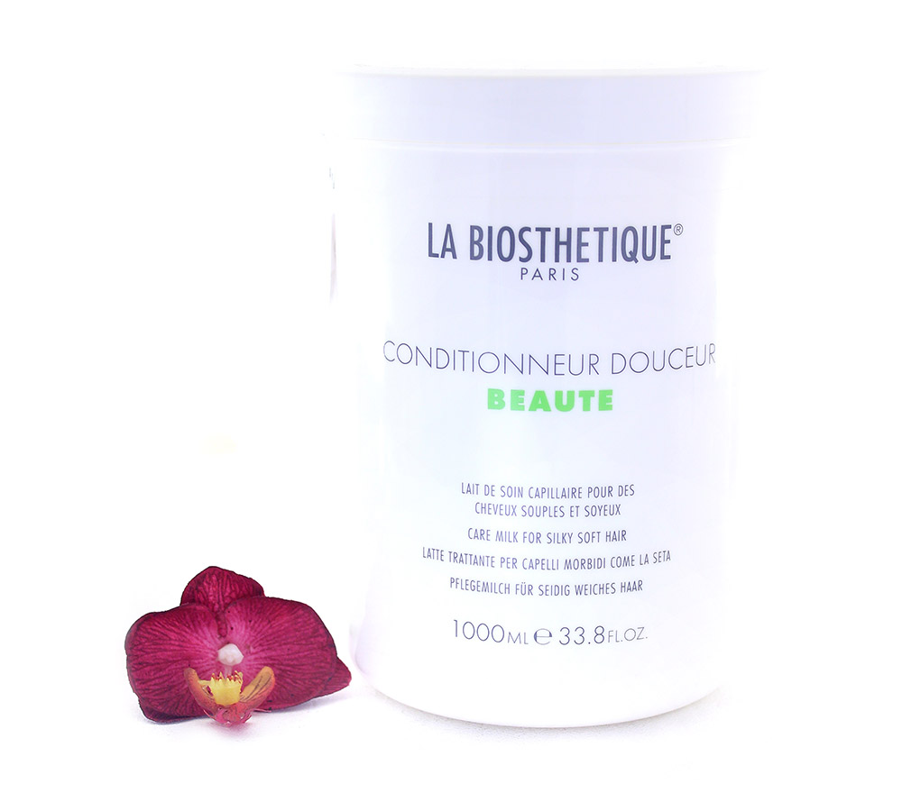 130926 La Biosthetique Conditionneur Douceur Beaute - Care Milk for Silky Soft Hair 1000ml