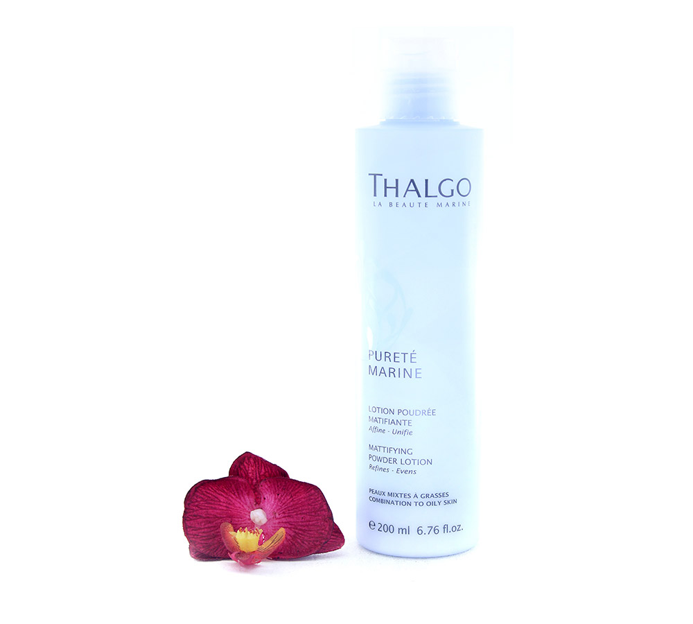 VT17002 Thalgo Pureté Marine Lotion Poudrée Matifiante - Mattifying Powder Lotion 200ml