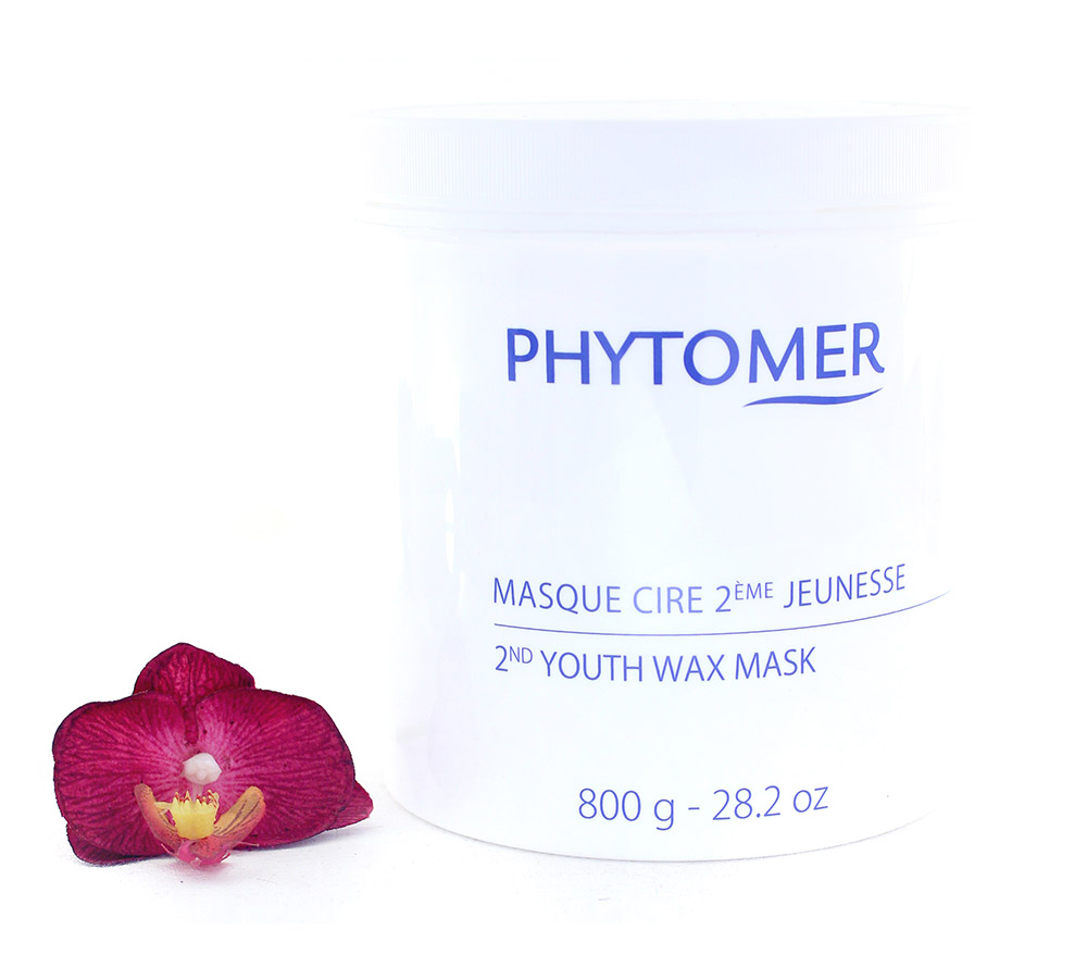 PFSVP392 Phytomer Masque Cire 2ème Jeunesse - 2nd Youth Wax Mask 800g