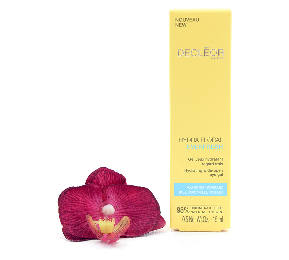 564000 Decleor Hydra Floral Everfresh - Hydrating Wide-Open Eye Gel 15ml