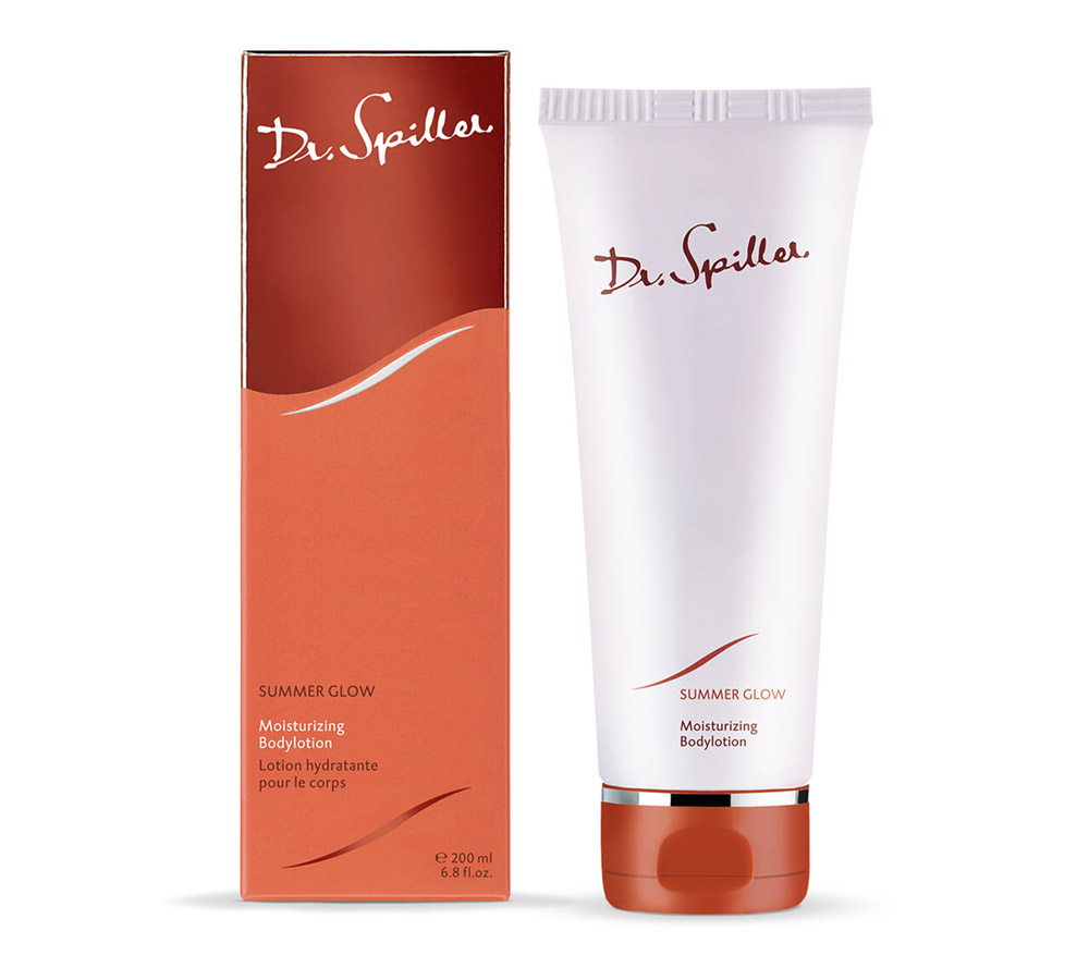 126212 Dr. Spiller Summer Glow Moisturizing Bodylotion 200ml