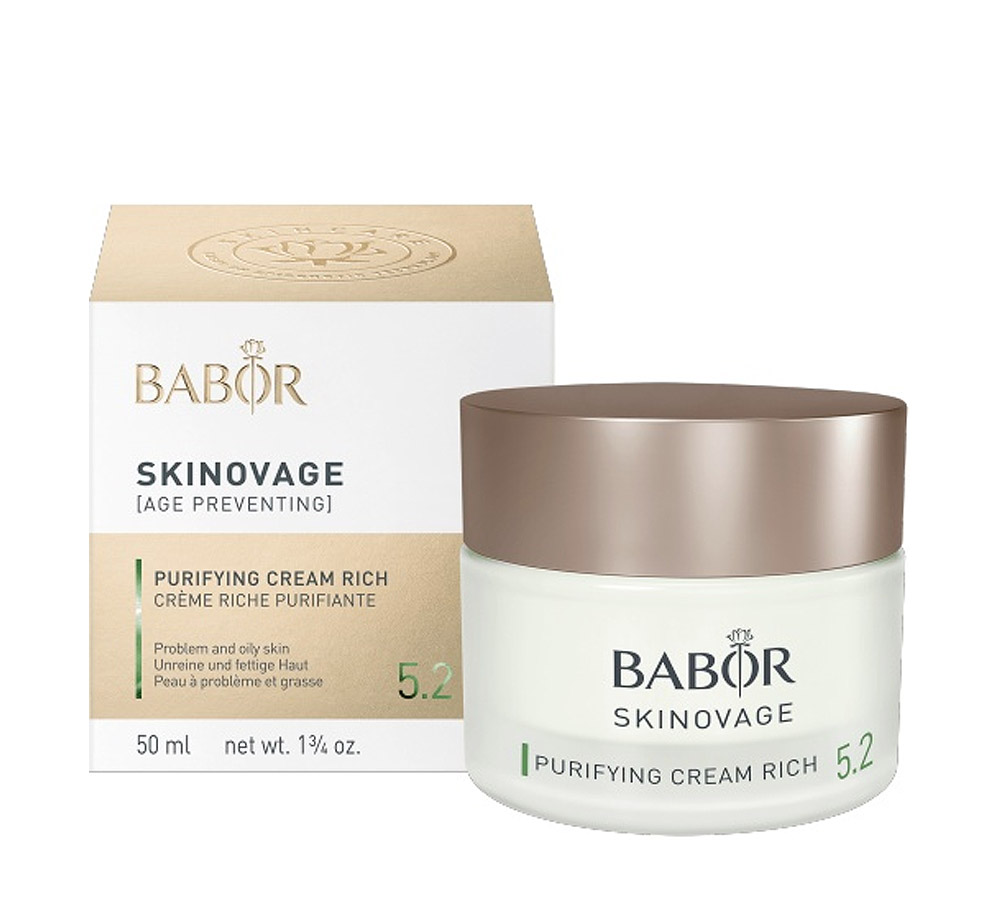 441700 Babor Skinovage Purifying Cream Rich 50ml