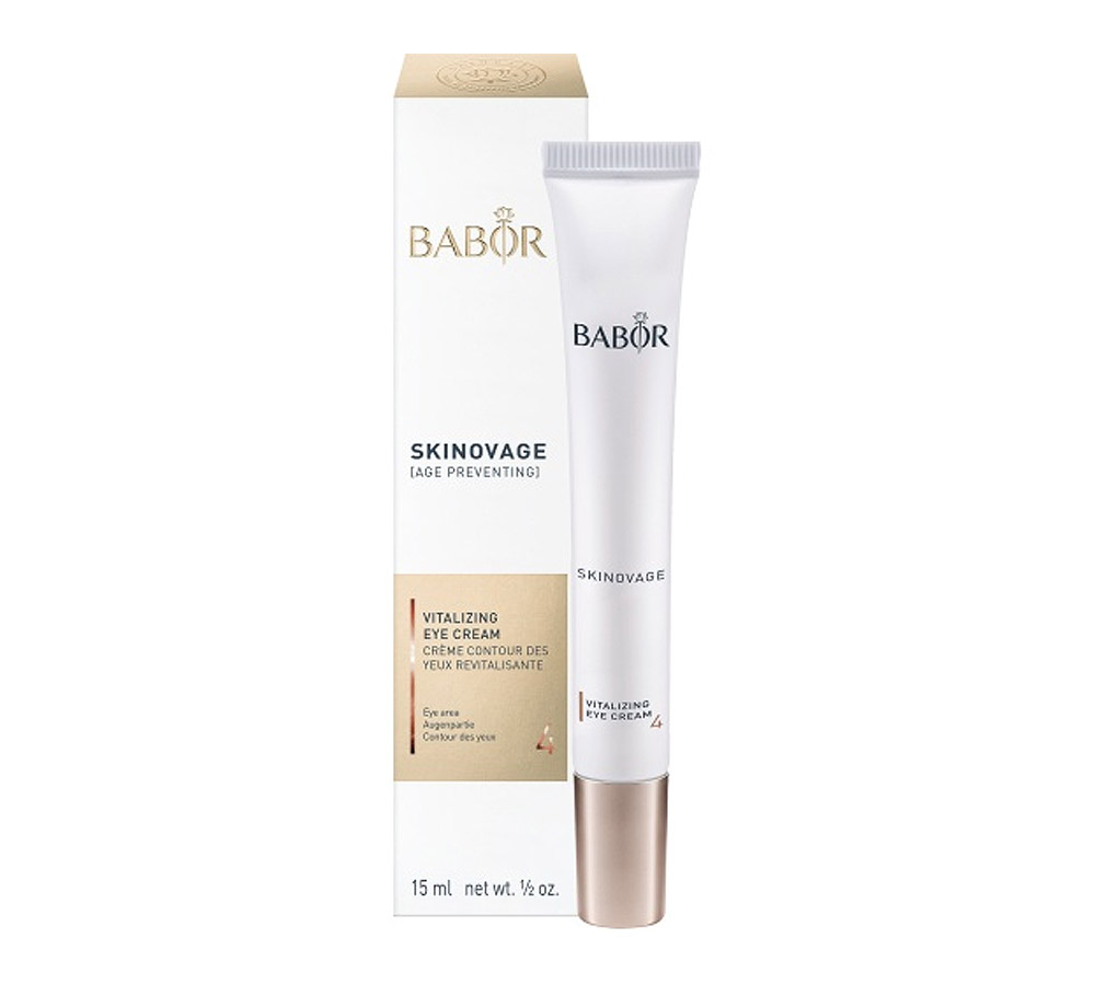 444100 Babor Skinovage Vitalizing Eye Cream 15ml New Formula 2018