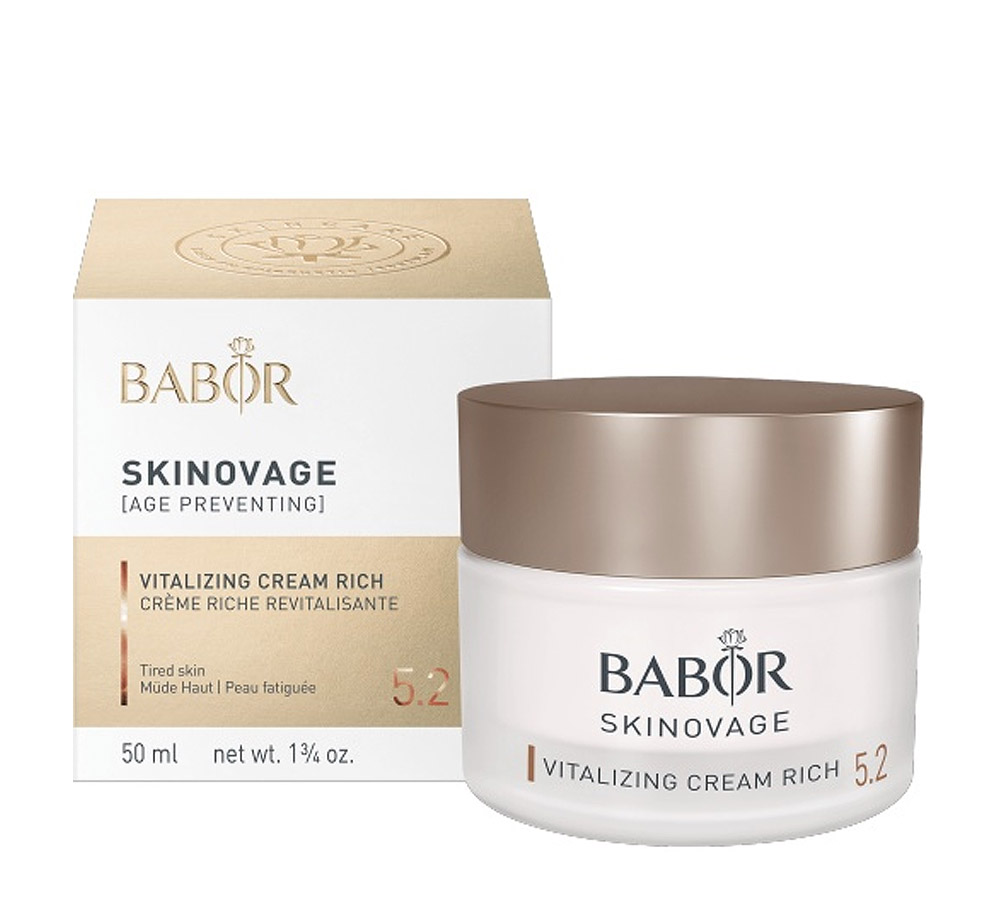 444300 Babor Skinovage Vitalizing Cream Rich 50ml New Formula 2018