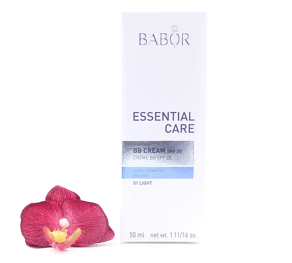 476358-1 Babor Essential Care BB Cream Zart Getönte Gesichtscreme LSF20 50ml
