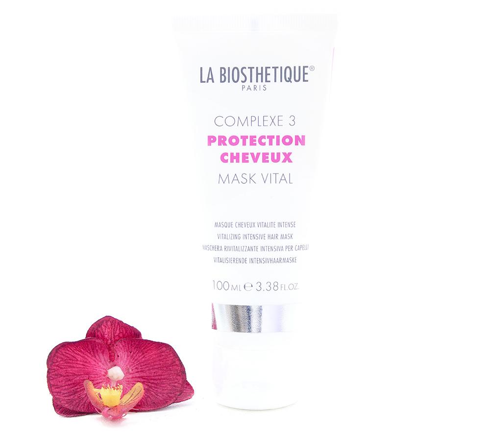 120200 La Biosthetique Protection Cheveux Complexe 3 Mask Vital 100ml