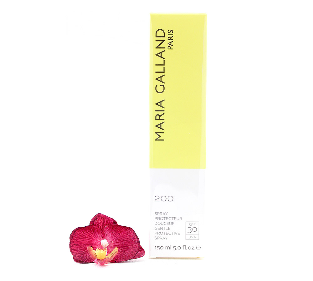 3001548 Maria Galland 200 Sun Gentle Protective Spray SPF30 150ml