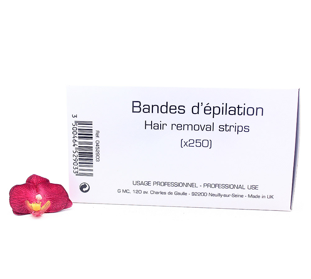 452903 Guinot Bandes d'epilation - Hair Removal Strips 250pcs