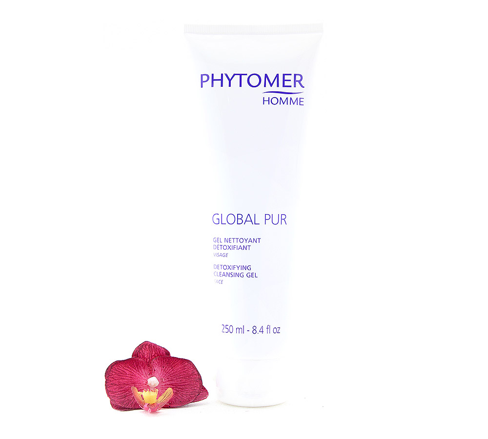 PFSVP800 Phytomer Men Global Pur - Detoxifying Cleansing Gel 250ml