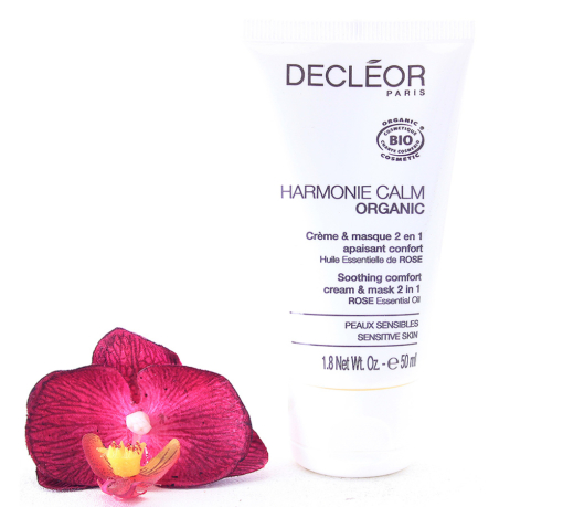 2708100-510x459 Decleor Harmonie Calm Organic - Soothing Comfort Cream And Mask 2in1 50ml