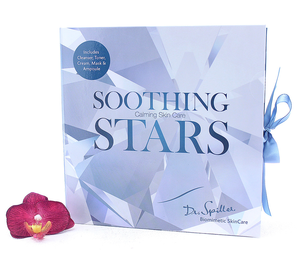 40990718 Dr. Spiller Calming Skin Care Soothing Stars Set