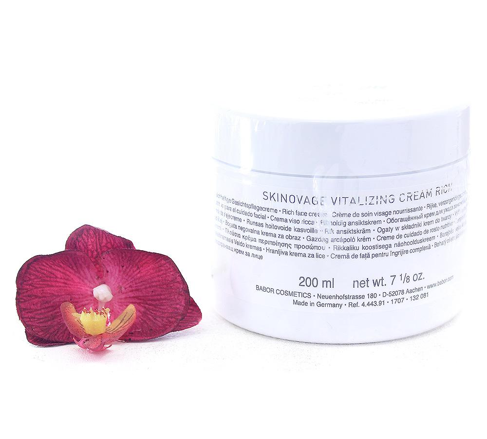444391 Babor Skinovage Vitalizing Cream Rich 200ml