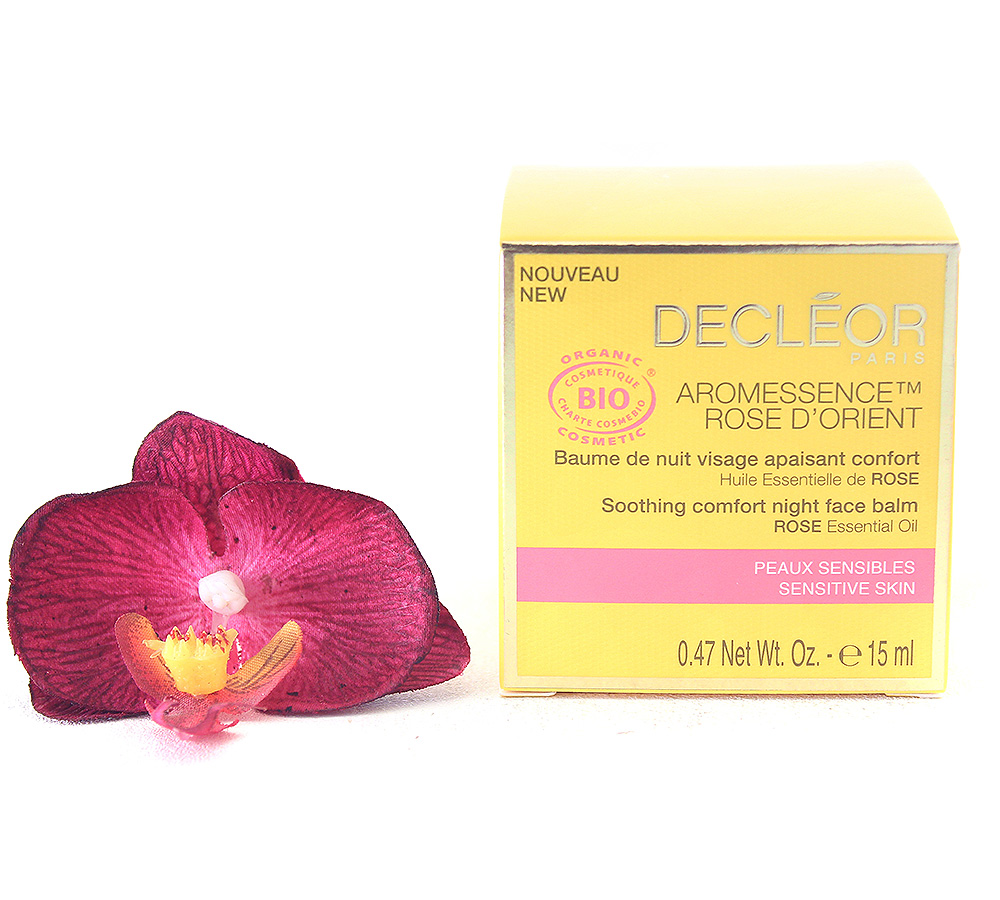 DR237001 Decleor Aromessence Rose d'Orient - Soothing Comfort Night Face Balm 15ml