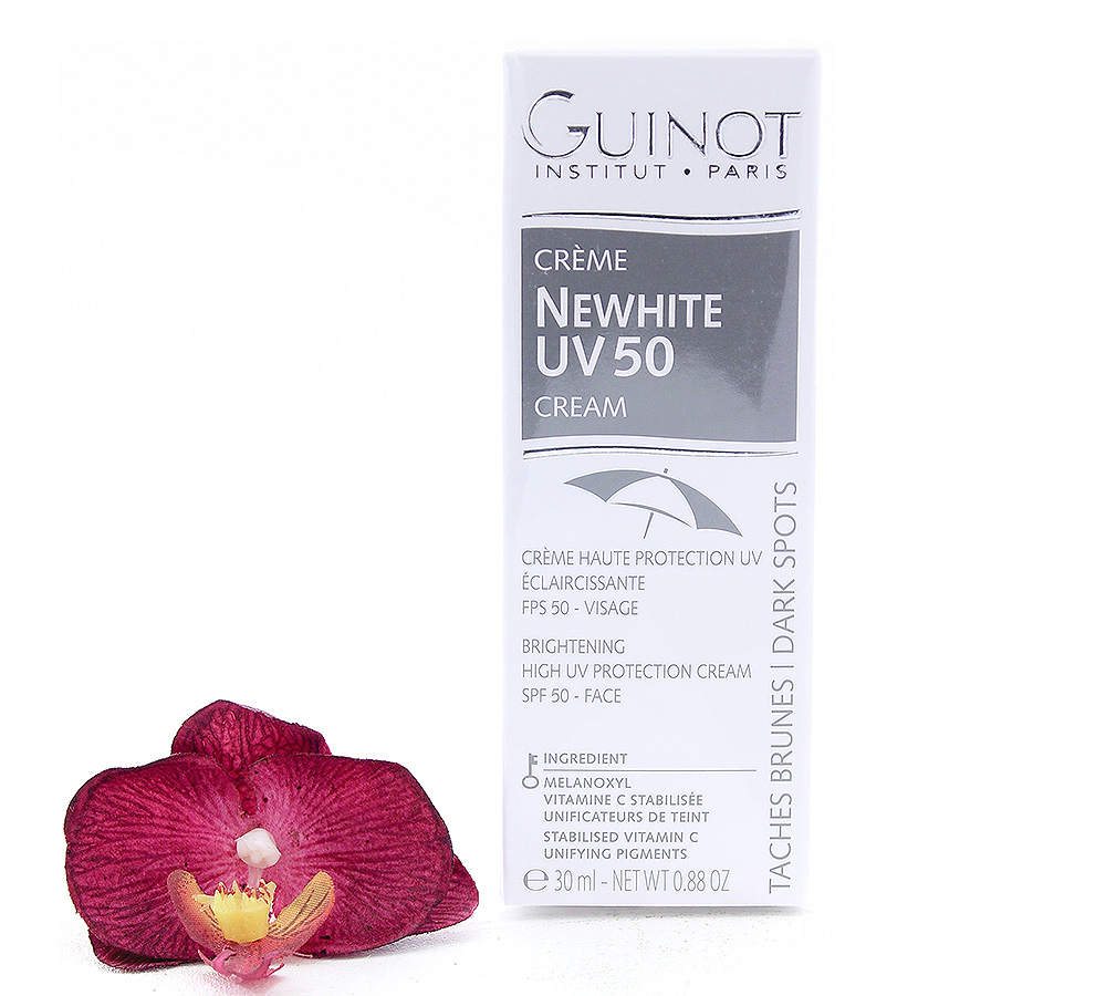 26506300 Guinot Newhite UV50 Cream - Brightening High UV Protection Cream SPF50 30ml