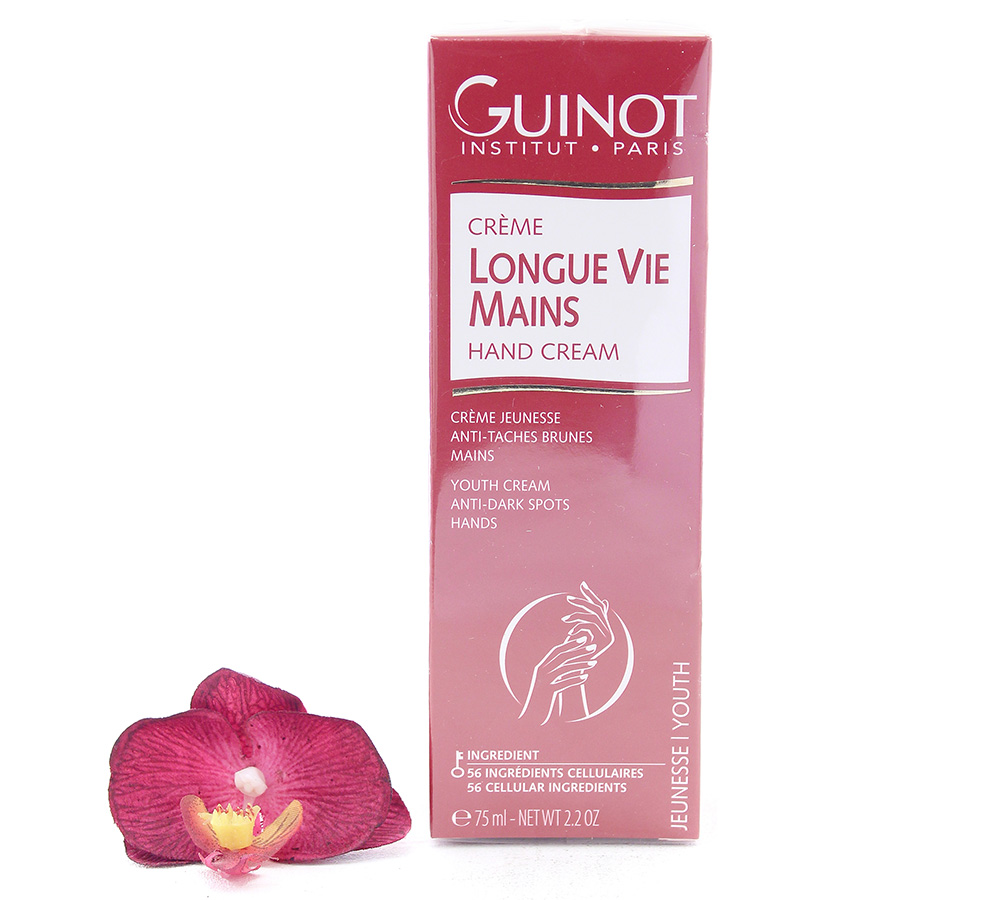 26512265 Guinot Longue Vie Mains - Youth Cream Anti-Dark Spots Hands 75ml