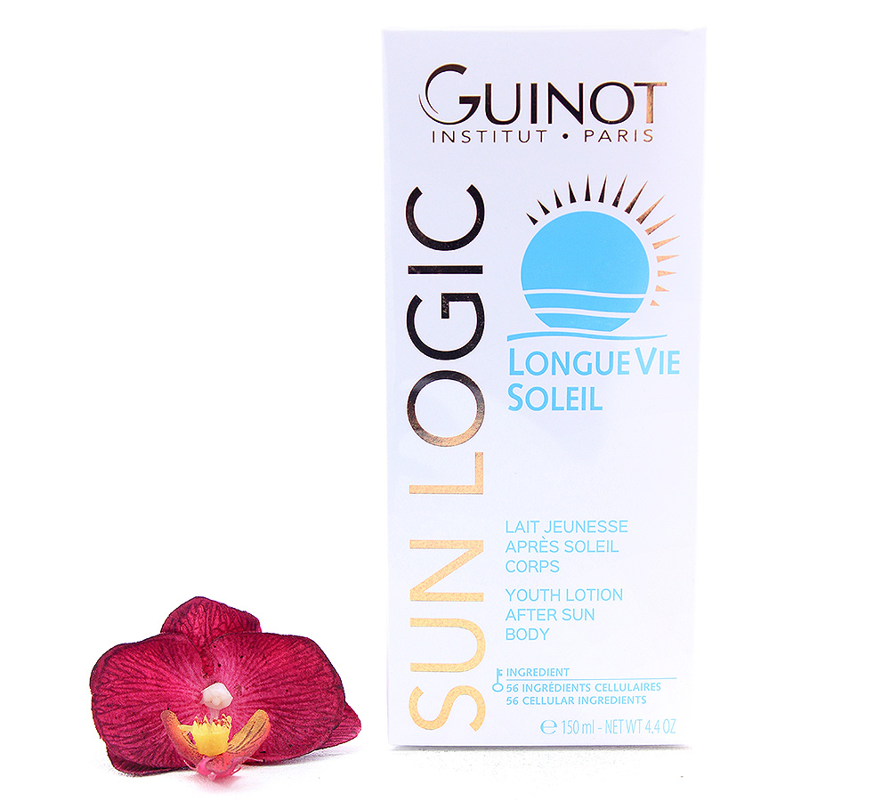 26515020 Guinot Sun Logic Longue Vie Soleil - Youth Lotion After Sun Body 150ml