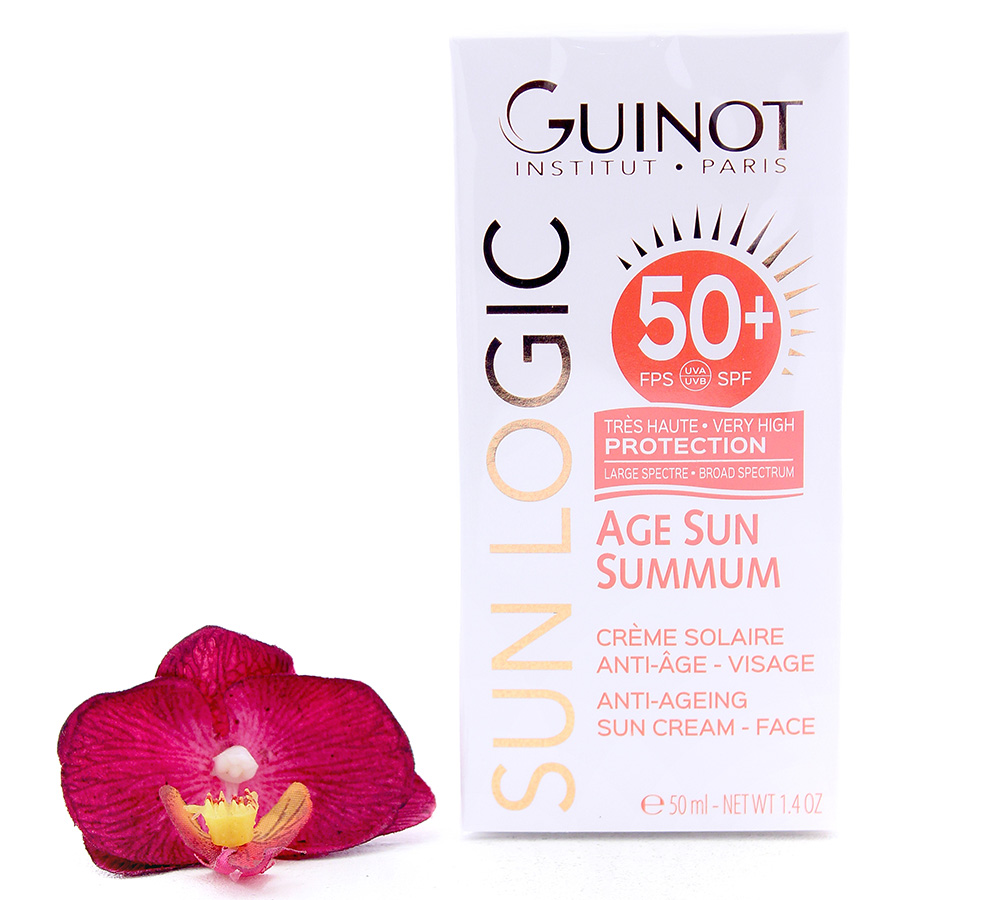 26515070 Guinot Sun Logic Age Sun Summum - Anti-Ageing Sun Cream SPF50+ 50ml