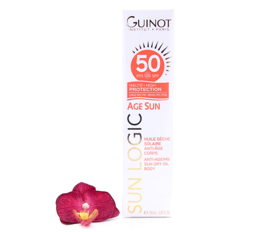 26515080-510x459 Guinot Sun Logic Age Sun - Anti-Ageing Sun Dry Oil SPF50 150ml