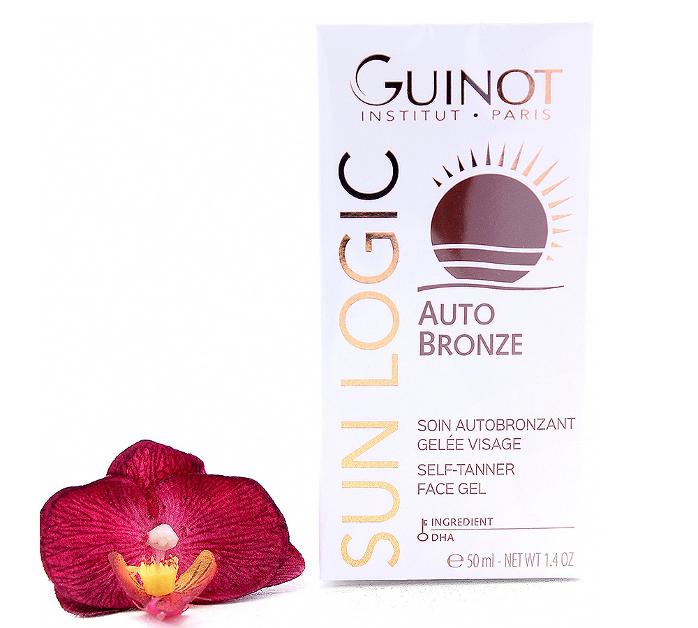 26515110 Guinot Sun Logic Auto Bronze Selft-Tanner Face Gel 50ml