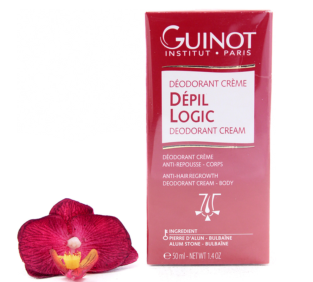 26527903 Guinot Depil Logic Anti-Hair Regrowth Deodorant Cream 50ml
