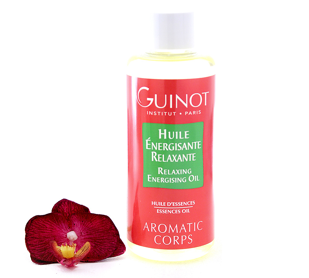 446523 Guinot Aromatic Corps - Relaxing Energising Oil 200ml