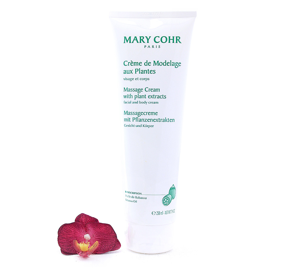 700680 Mary Cohr Massage Cream With Plant Extracts 250ml