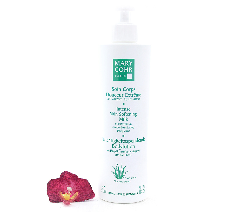 792030 Mary Cohr Aloe Vera Intense Skin Softening Milk Bodylotion 500ml