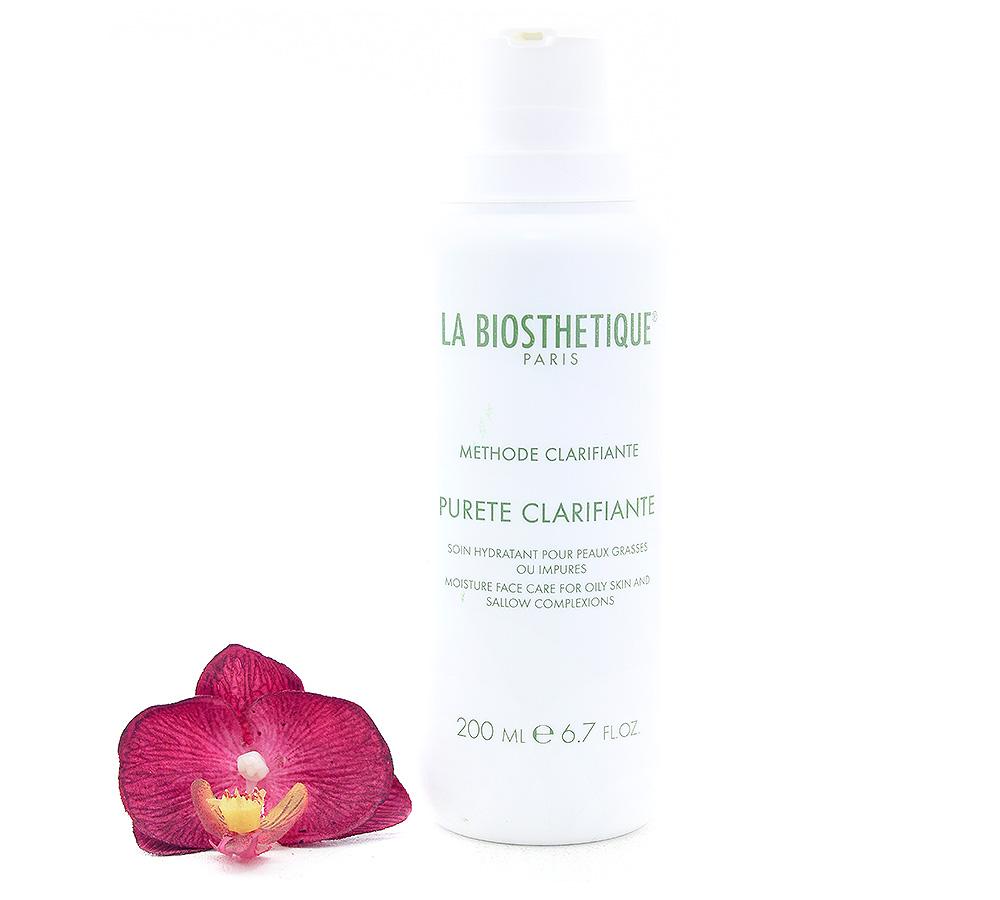 056146 La Biosthetique Purete Clarifiante - Soin Hydratant pour Peaux Grasses ou Impures 200ml