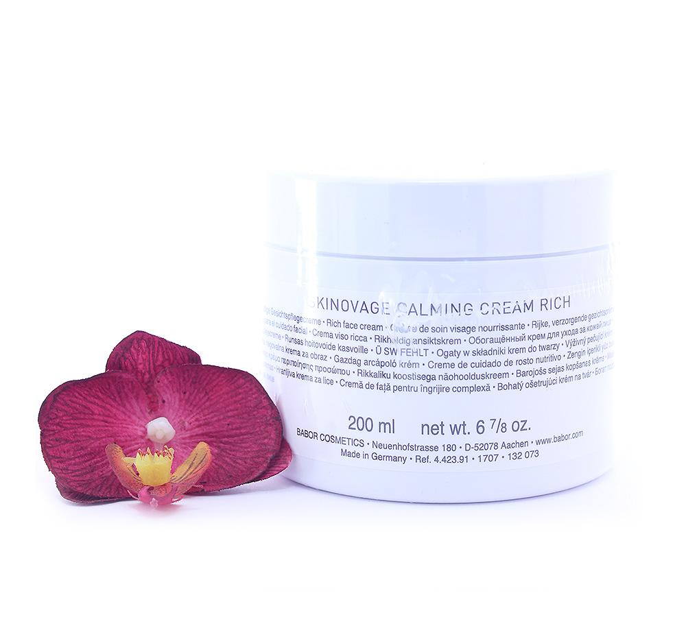 442391 Babor Skinovage Calming Cream Rich 200ml