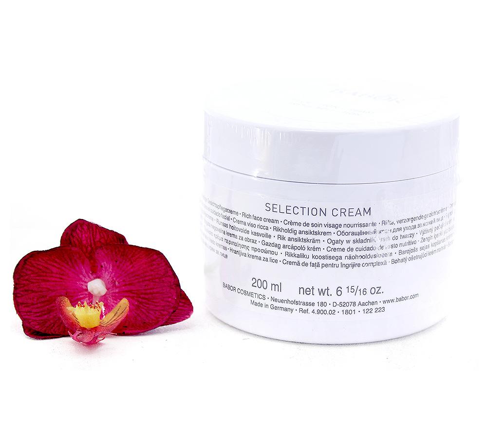 490002 Babor Skinovage Selection Cream 200ml